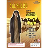 Shepherd Nativity Costume : Childs: Brown: Age 4 - 6 yrsby JBATEK ltd