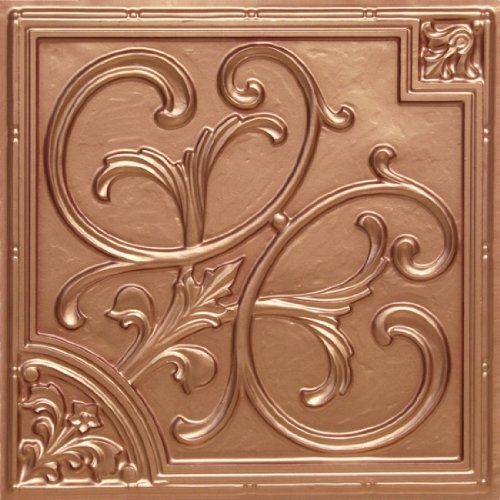 Cheap Decorative Decorative Plastic Ceiling Tiles 204 Copper Ul Rated Can Be