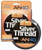 Pradco Silver Thread AN40 Filler Spool Fishing Line-300 Yards (Silver, 6-Pound Test)