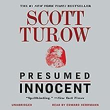 Presumed Innocent Audiobook by Scott Turow Narrated by Edward Herrmann