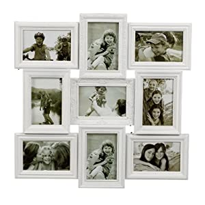 Salco 9 Piece Ornate Multi Frame White Amazon Co Uk
