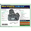 Nikon D70 / D70s in Brief Laminated Reference Card