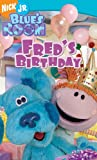 Blues Clues - Blues Room - Freds Birthday [VHS]