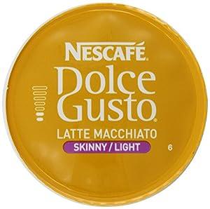Nescafe Dolce Gusto Skinny Latte Macchiato, 16 Count (Pack of 3)