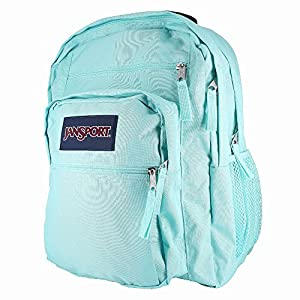 JANSPORT BIG STUDENT AQUA DASH BACKPACK