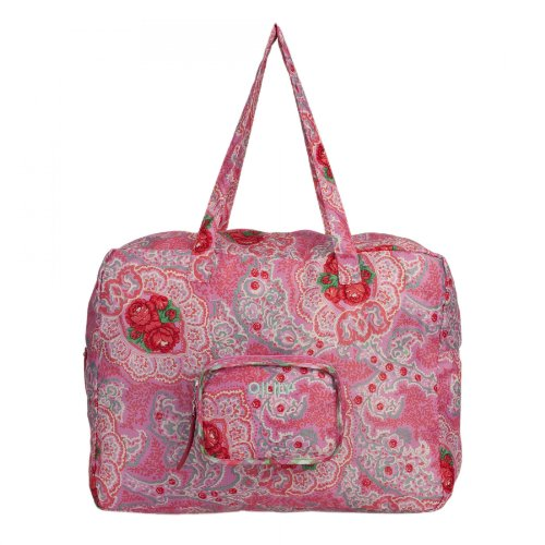 Oilily Apron Folding Carry All - Pink