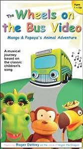 The Wheels on the Bus Video - Mango and Papaya's Animal Adventure [VHS]