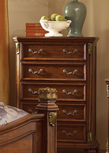 Messina 5 Drawer Chest front-808607