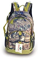 Mossy Oak Camouflage Backpack Hunting Hiking School Bag Olive Green