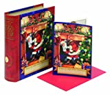 CR Gibson Night Before Christmas Storybook Boxed Cards (Pack of 3)