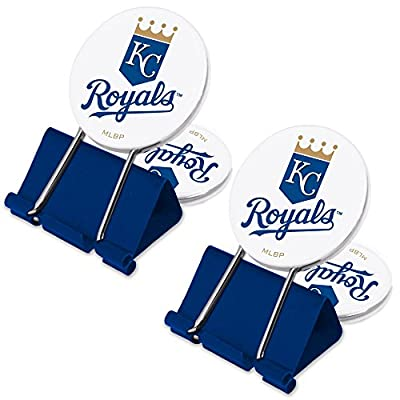 MLB Kansas City Royals MyFanClip Multi Purpose Clips (Pack of 2)