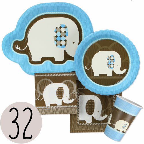 Blue Elephant Bundle For 32 front-691832