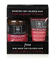 APIVITA Shampoo Value Set for Coloured Hair with Sunflower & Honey 300ml