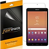 [3-Pack] Supershieldz for Samsung Galaxy Tab A 8.0 inch (2017) [SM-T380] Screen Protector, High Definition Clear Shield + Lifetime Replacement (Color: Clear, Tamaño: 8 Inches)