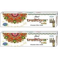 Ullas Tradition Of India Incense Sticks, 50 Gm Box, Set Of 2