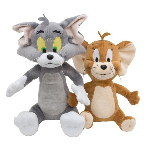 Hanna Barbera Tom And Jerry Deluxe Plush Set