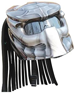 X-FF Fiber Factory - Predator Motorcycle Helmet X1 Airbrush - Medium