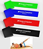 BIG SALE TODAY 70% OFF Best Durability 4 Exercise Bands/ Loop Bands / Fitness Bands /Leg Resistance Bands/ Stretch Bands ★100% Natural Eco-Friendly Elastic Latex ★ 100% Risk-Free Lifetime Money Back Guarantee