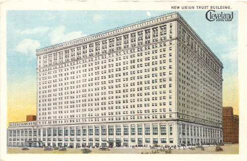 1920s Vintage Postcard - New Union Trust Building