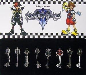 Kingdom Hearts II Porte-clés Un ensemble de 8 espèce 1 fixer