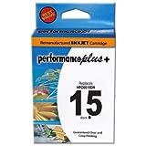 Performance Plus Remanufactured HP15 Black Inkjet Cartridge (C6615DN #15) ~ Performance Plus