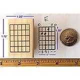 Guitar Chord Stamp (Large) - 5 Fret