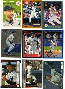 Derek Jeter New York Yankees Baseball Card Collectors Lot by Topps+Upper+Deck