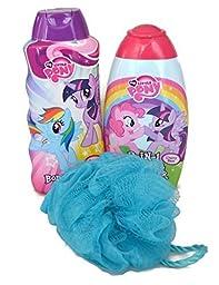 My Little Pony Bath Time Bundle of 3 Items