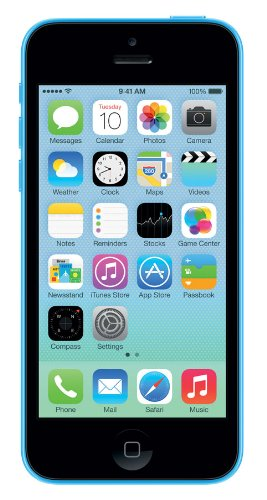 Apple Iphone 5c 32gb Sim Free Unlocked Mobile Phone -blue New Retail...