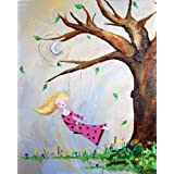 Cici Art Factory Wall Art, Swing Paper Print, Small