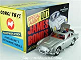 CORGI CC04203 JAMES BOND ASTON MARTIN DB5 SILVER 50TH ANNIVERSARY GOLDFINGER K8Q
