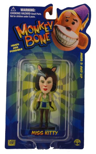 Monkey Bone Little Big Head Figure Miss Kitty