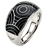 EMPORIO ARMANI - women Rings Jewels - EAG STEEL DONNA - Ref. EGS1247040506