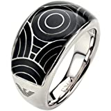 EMPORIO ARMANI - women Rings Jewels - EAG STEEL DONNA - Ref. EGS1247040504