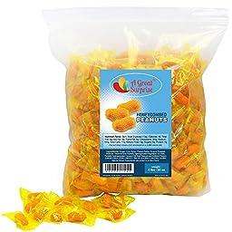 Atkinson\'s Honeycombed Peanuts, 4 LB Bulk Candy