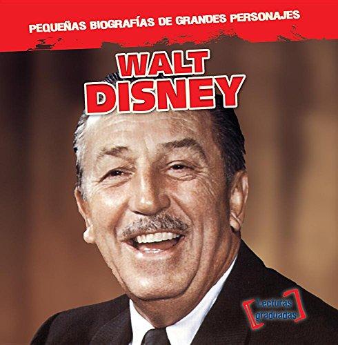 Walt Disney (Pequenas Biografias De Grandes Personajes / Little Biographies of Big People)  [Stoltman, Joan] (Tapa Blanda)