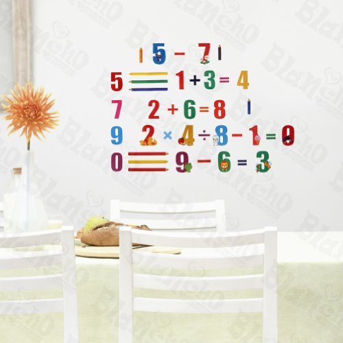[Funny Math] Decorative Wall Stickers Appliques Decals Wall Decor Home Decor front-400307