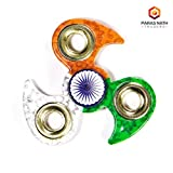 #8: PNT Tri Colour Indian Flag Leaf Edge Metal Spinner (Independence Day Limited Edition)