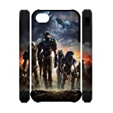 Master Chief Halo iPhone 4 4s Case Game Theme Case Cover Fits iPhone 4 4s