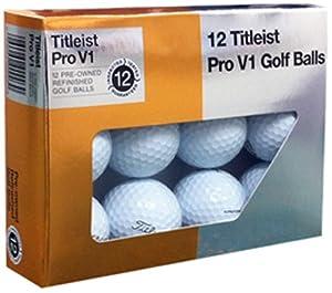 Titleist Pro V1x Mint Refinished Golf Ball, White