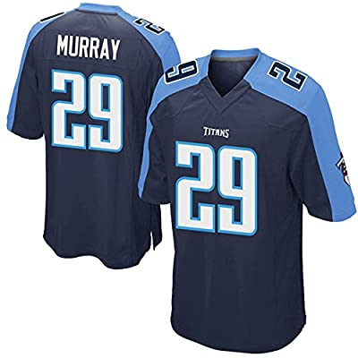 SADFIKOR Tennessee City Football Titans Murray#29 Adult Popular Jersey