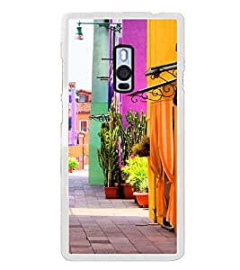Colourful Street 2D Hard Polycarbonate Designer Back Case Cover for OnePlus 2 :: OnePlus Two :: One +2