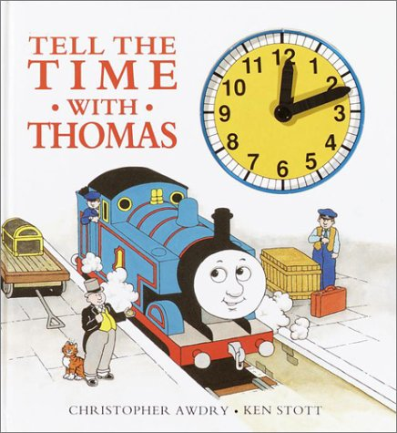 Tell the Time with Thomas Clock Book