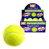 12 A GRADE ROYAL COURT YELLOW HIGH BOUNCE TENNIS BALLS CRICKET PLAY DOG PET