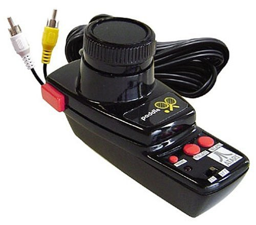 Atari Paddle Controller TV Video Game System with Games