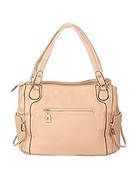 Vero Couture Metal Accent Handbag - B01C7AK1JA