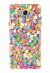 Noise Designer Printed Back Case / Cover for Samsung Galaxy J7 (2016) / Patterns & Ethnic / Stripes Design
