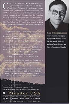 an analysis of the englishmans boy by guy vanderhaeghe Get this from a library the englishman's boy [guy vanderhaeghe] -- winner of the 1996 governor-general's literary award.