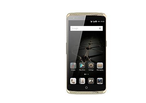 "ZTE Axon Elite 5.5"" FHD 4G LTE Smartphone Débloqué Qualcomm MSM8994 Octa Core Android Lollipop 32GB ROM Double cameras 13.0MP+2.0MP Corning Gorilla Glass Snapdragon 810 NFC Fingerprint ID UE - Or"
