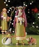 Set of 3 Patience Brewster Krinkles Shepherd, Collie & Corgi Christmas Figures